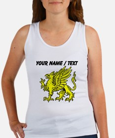Custom Gold Griffin Statue Tank Top