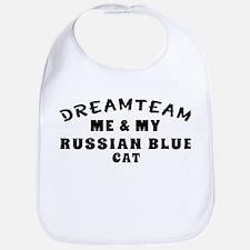 Russian Blue Cat Designs Bib