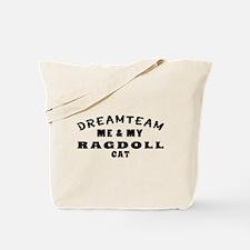Ragdoll Cat Designs Tote Bag