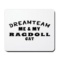 Ragdoll Cat Designs Mousepad
