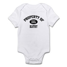 Property of Kathy Infant Bodysuit