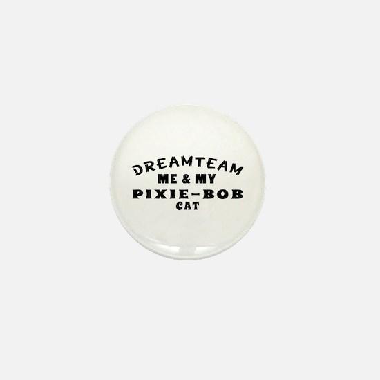 Pixie-Bob Cat Designs Mini Button