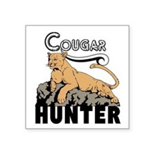 Cougar Hunter Sticker