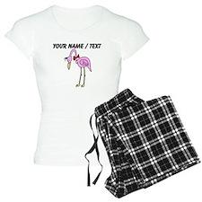 Custom Pink Flamingo Pajamas