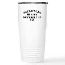 Peterbald Cat Designs Travel Coffee Mug