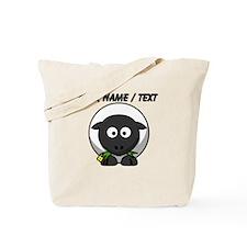 Custom Cartoon Sheep Tote Bag