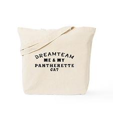 Pantherette Cat Designs Tote Bag