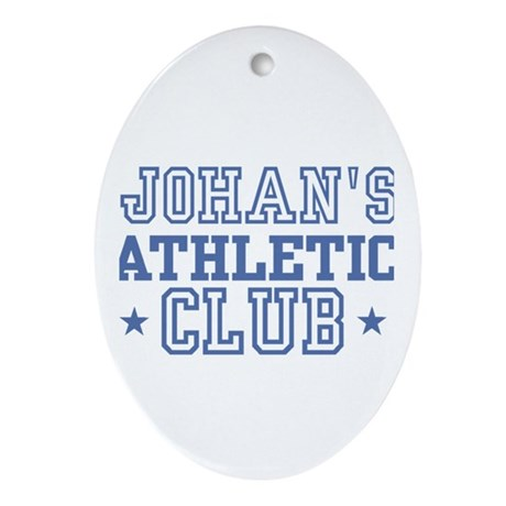 Johan Oval Ornament