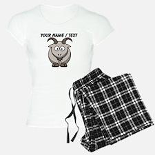 Custom Cartoon Goat Pajamas