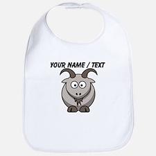 Custom Cartoon Goat Bib