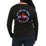 KC-135 Stratotanker Women's Long Sleeve Dark T-Shi