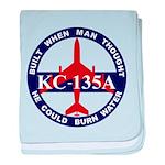 KC-135 Stratotanker baby blanket