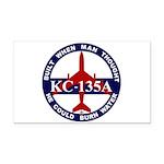 KC-135 Stratotanker Rectangle Car Magnet