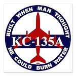 KC-135 Stratotanker Square Car Magnet 3