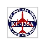 KC-135 Stratotanker Square Sticker 3