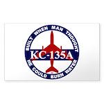 KC-135 Stratotanker Sticker (Rectangle 50 pk)