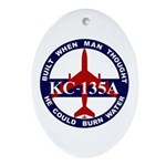 KC-135 Stratotanker Ornament (Oval)