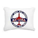 KC-135 Stratotanker Rectangular Canvas Pillow