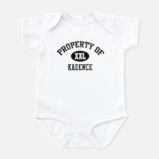 Property of Kadence Infant Bodysuit