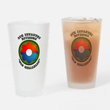 Army - SSI - 9th Infantry Division Drinking Glass