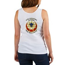 Army - SSI - 9th Infantry Division Women's Tank To