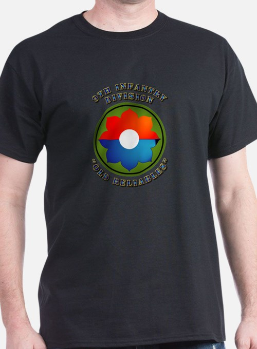 Army - SSI - 9th Infantry Division T-Shirt