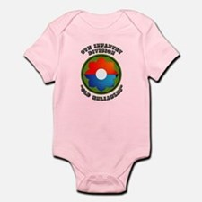 Army - SSI - 9th Infantry Division Infant Bodysuit