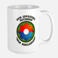Army - SSI - 9th Infantry Division Large Mug