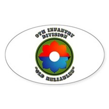 Army - SSI - 9th Infantry Division Decal