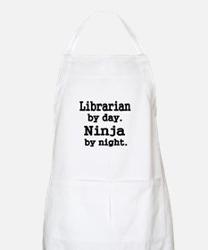 Librarian day. Ninja by Night Apron