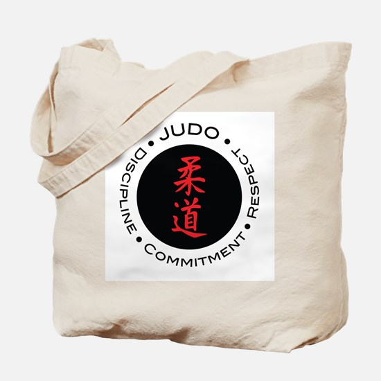 Judo Logo circle Tote Bag