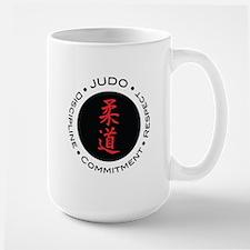 Judo Logo circle Mug