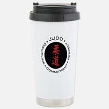 Judo Logo circle Travel Mug