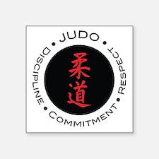 Judo Logo circle Sticker