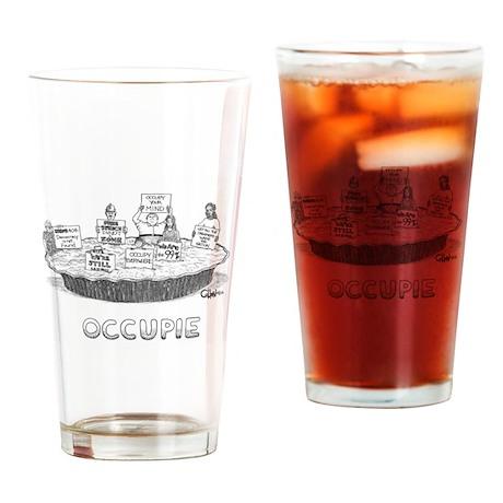 Occupie Drinking Glass