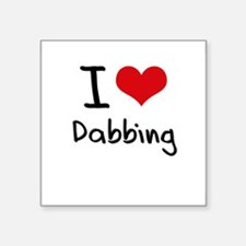 I Love Dabbing Sticker