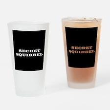 Secret Agent Drinking Glass