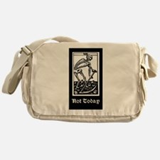 DEATH - NOT TODAY Messenger Bag