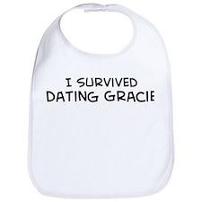 Survived Dating Gracie Bib
