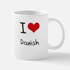 I Love Danish Mug
