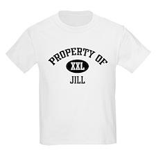 Property of Jill Kids T-Shirt