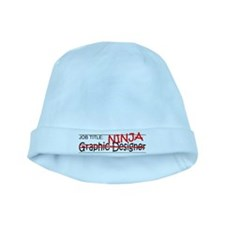 Job Ninja Graphic Designer baby hat