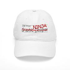 Job Ninja Graphic Designer Baseball Cap