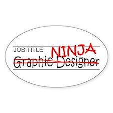 Job Ninja Graphic Designer Decal