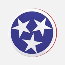 "Tennessee Flag 3.5"" Button"