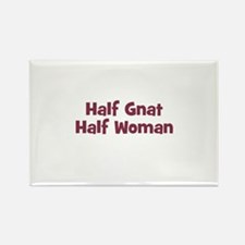 Half GNAT Half Woman Rectangle Magnet (10 pack)
