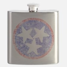 Faded Tennessee American Flask