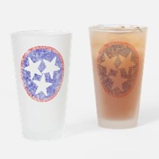 Faded Tennessee American Drinking Glass