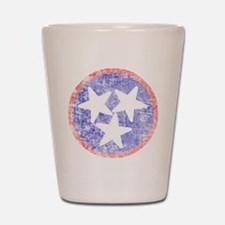 Faded Tennessee American Shot Glass