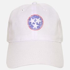Faded Tennessee American Baseball Baseball Cap